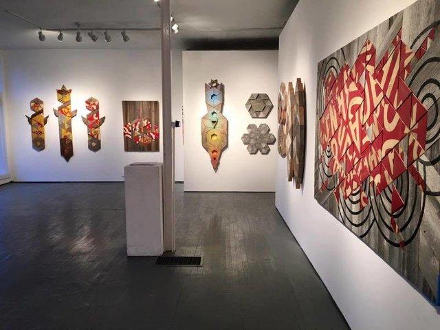 """Babel"" solo exhibition 2016 Hoffman LaChance Gallery"