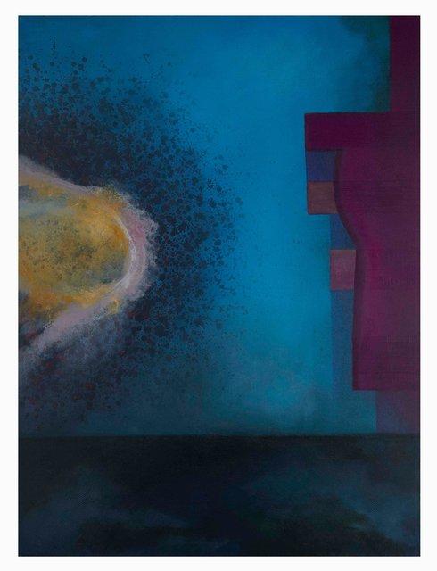 'Purple & Blue Composition'