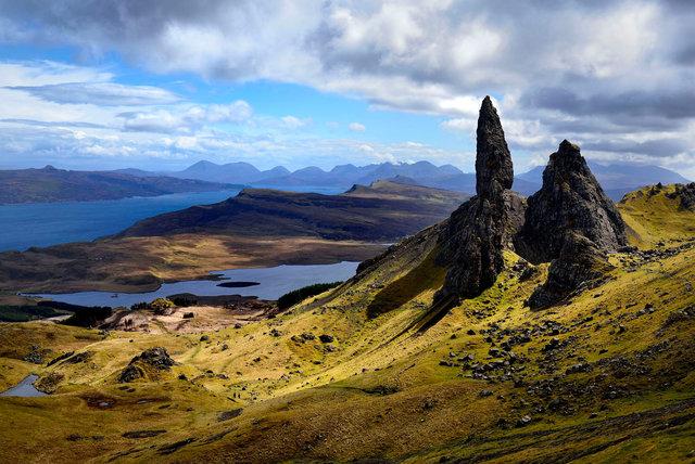 Old Man of Stor, île de Skye