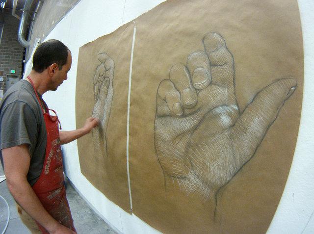 Preparatory drawing