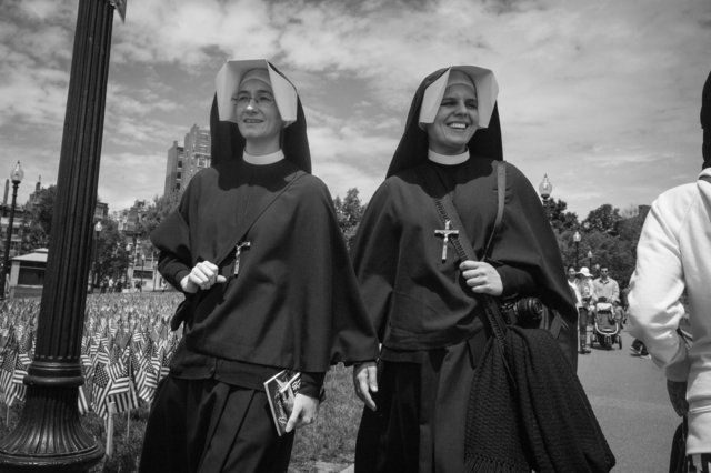 NUNS ON VACATION