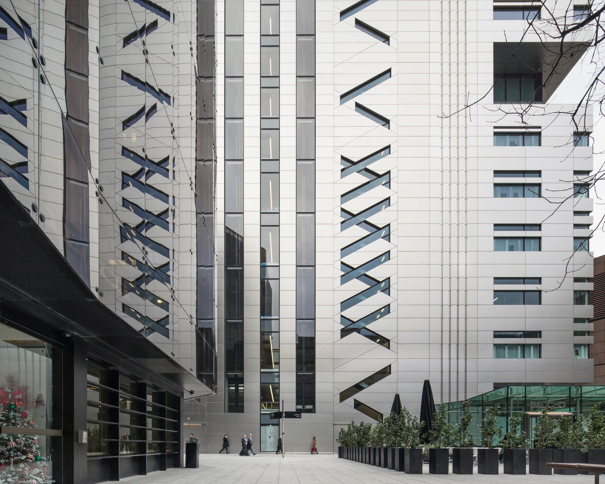 5 Broadgate. City of London. Make Architects