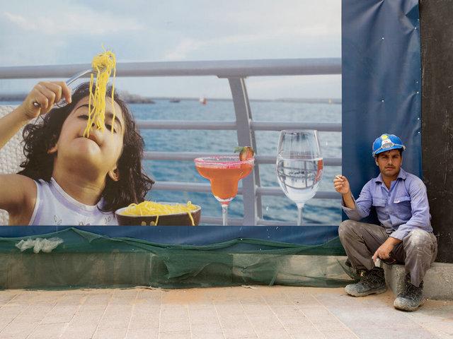 Construction worker - Dubai Marina