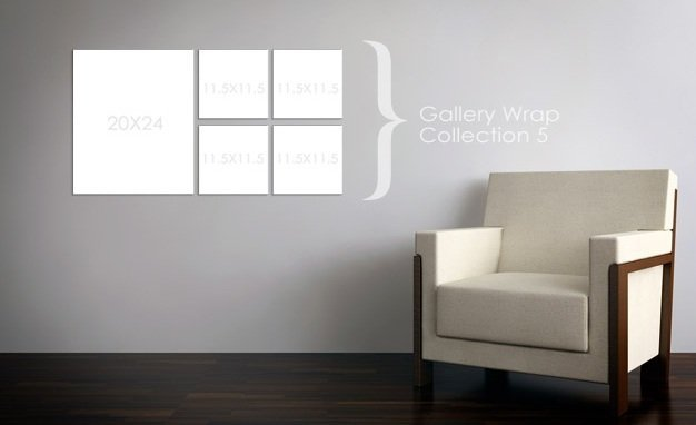 Gallery Wrap Collection 5