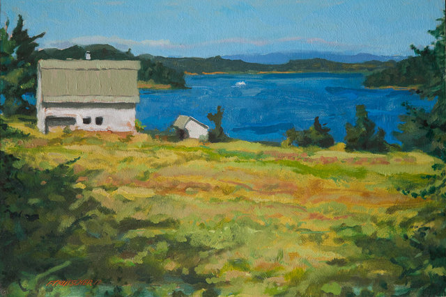 """Whitridge Barn, Orcas"""