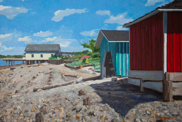 Boat and Net Sheds