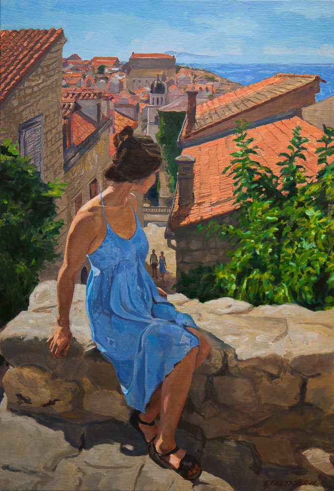Blue Dress, Dubrovnik