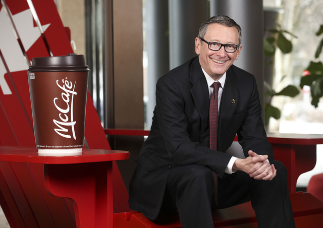 John Betts, President and CEO of McDonalds Canada