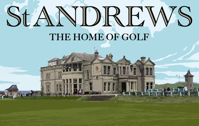 BBC St Andrews Golf promotion sequence