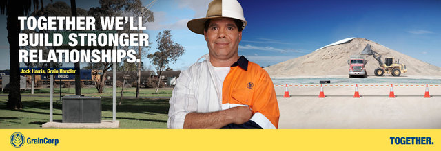 Graincorp Together campaign
