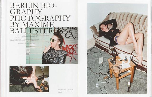 PURPLE FASHION #18 : BERLIN BIOGRAPHY