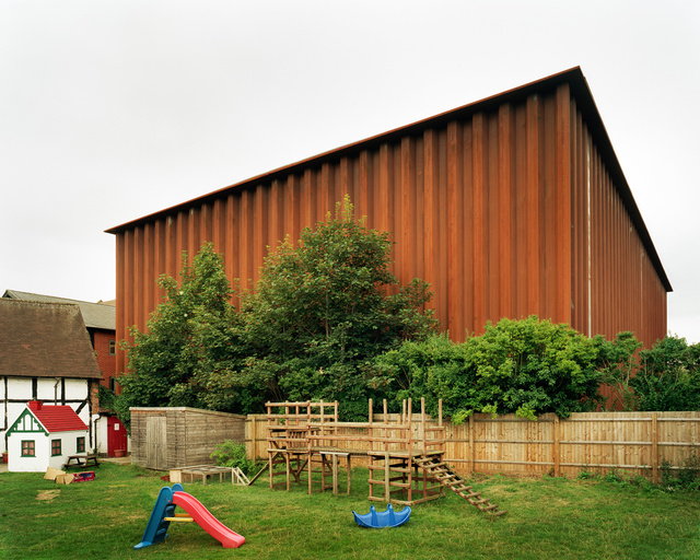 RSC Courtyard Theatre, Stratford Upon Avon. Ian Ritchie Architects