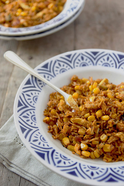 Sweetcorn Egg Fried Rice