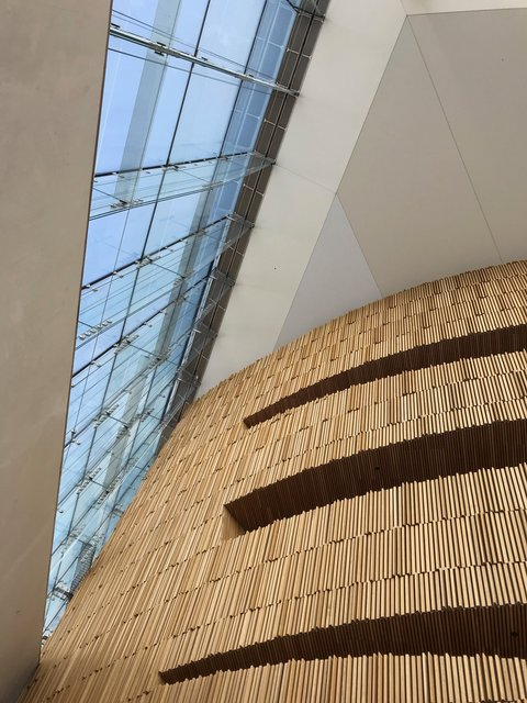 Oslo Opera House - internal detail