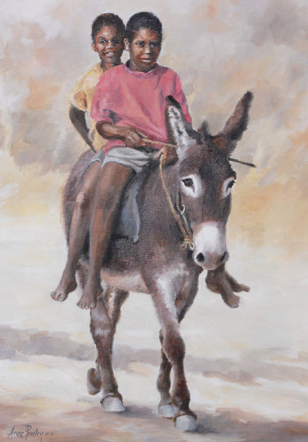 Boys Riding Donkey 2015.jpg
