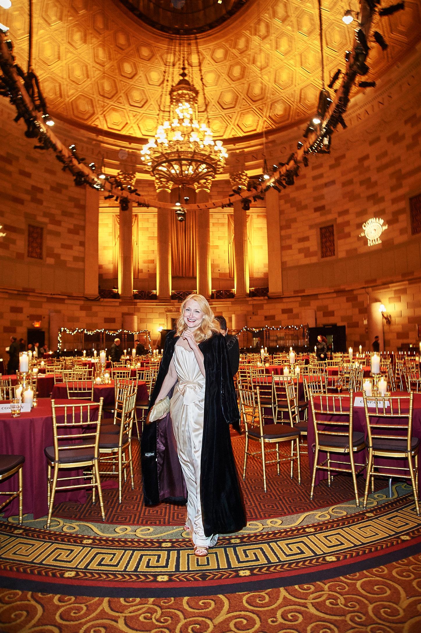 Patricia Clarkson celebrates the Elephant Man on Broadway