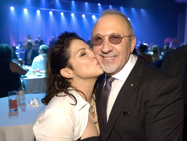 Emilio Estefan is one happy man.