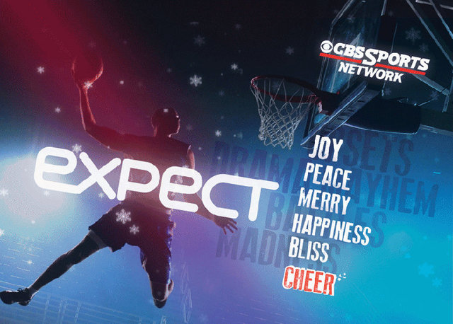 CBS Sports Network holiday card