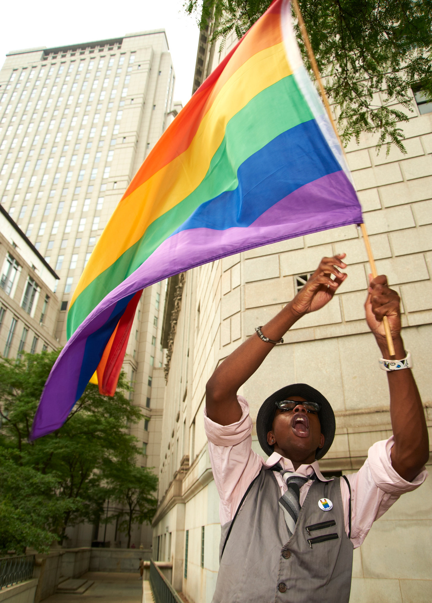 New York's first day of Marriage Equality