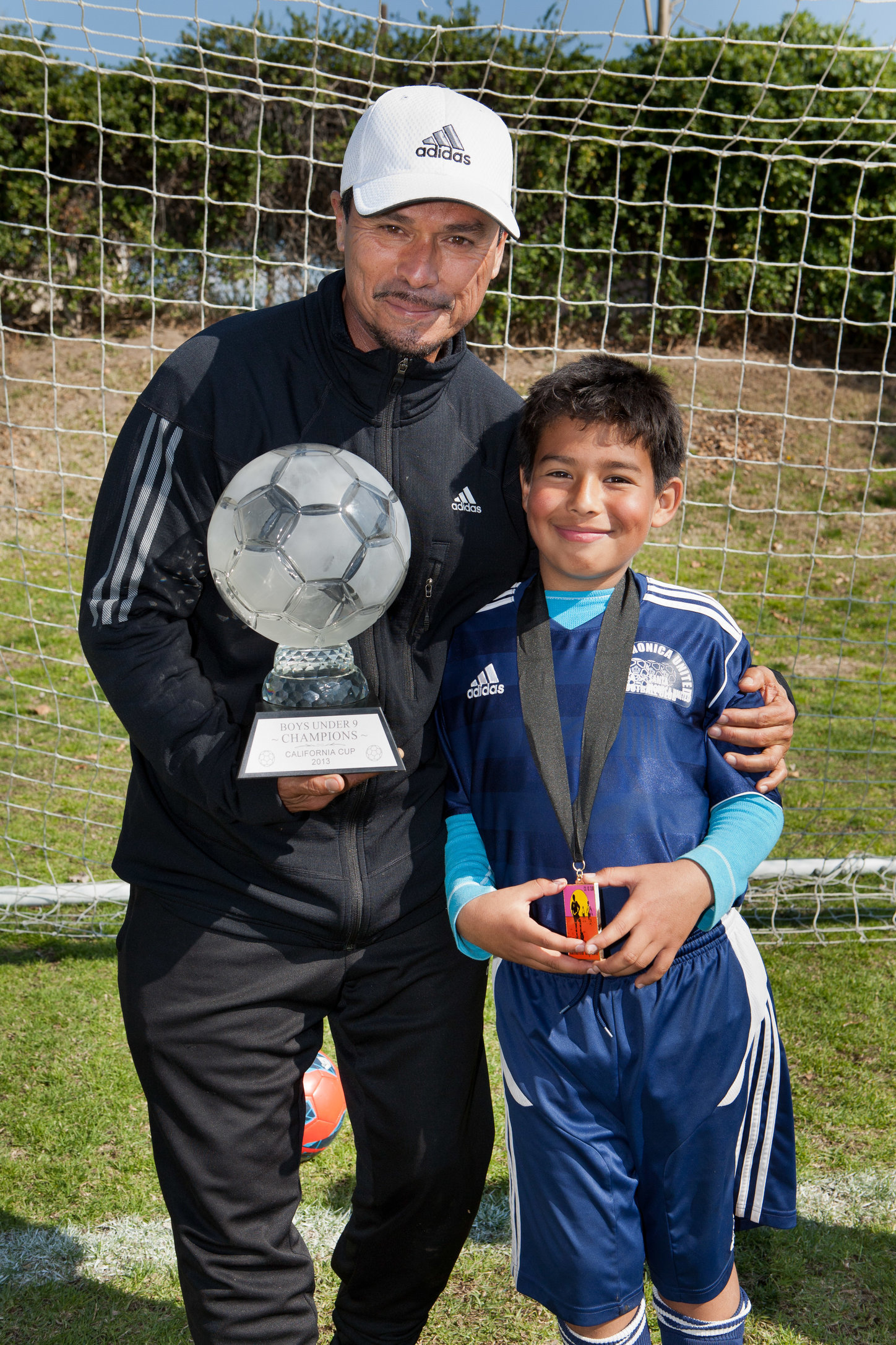 Coach Nico and Jaime Ayala