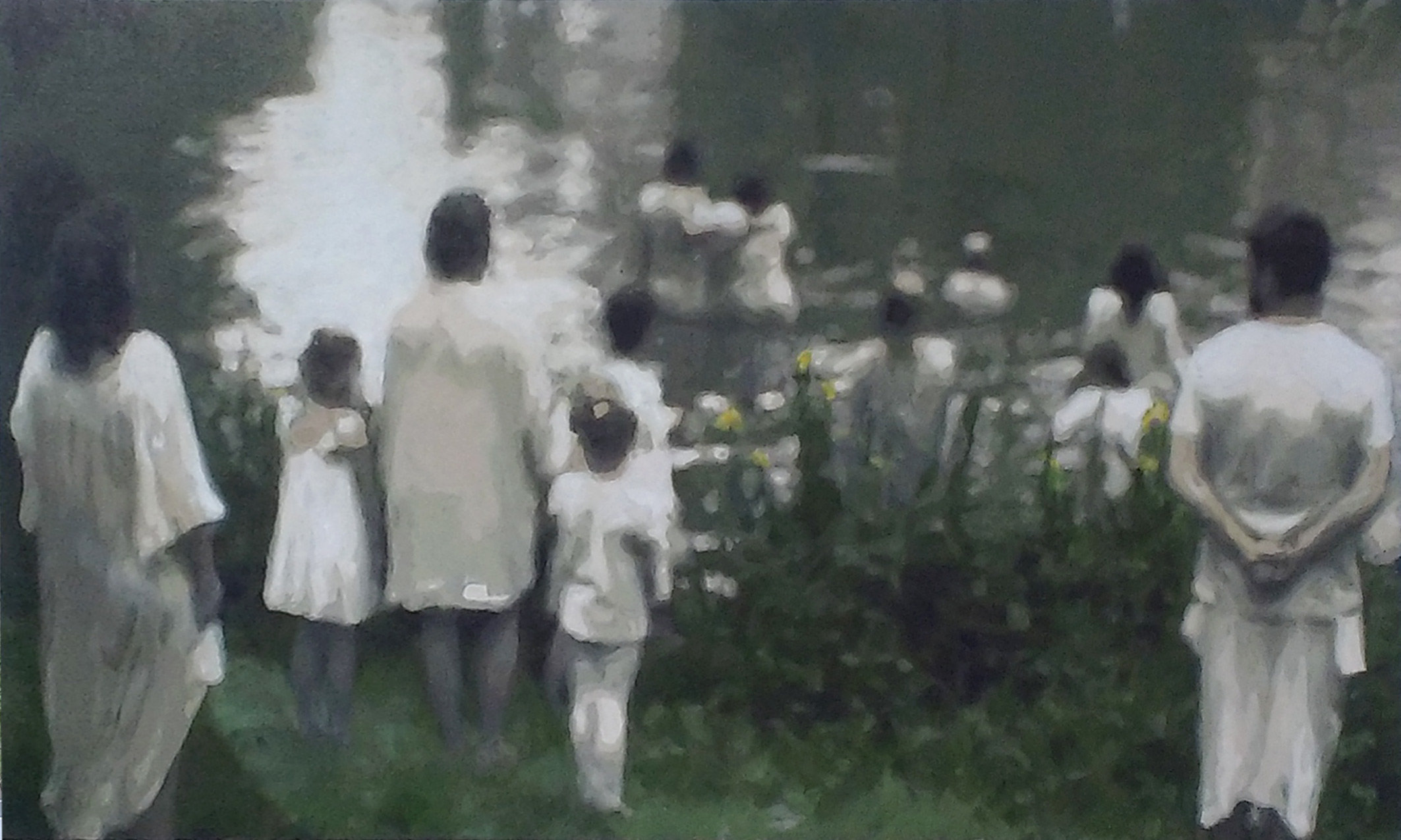 'Rituals 01'  150 x 100 cm.   3200 €