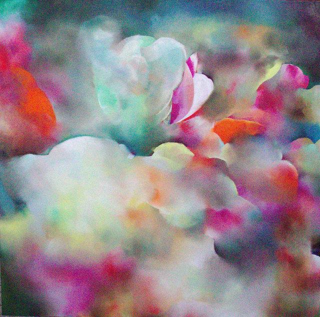 Hungry Tulip, 100 cm x 100 cm, Oil on canvas, 2018.jpg