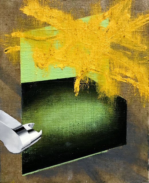Untitled, Öl auf Leinwand, 30 x 40 cm