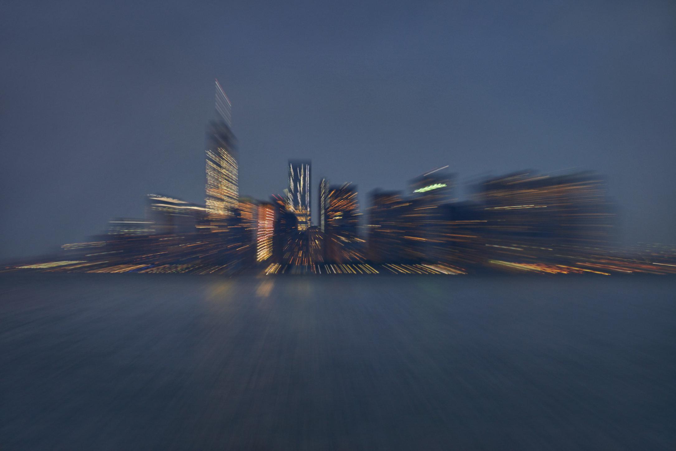 Metamorphis II / NY Skyline / Nightfall