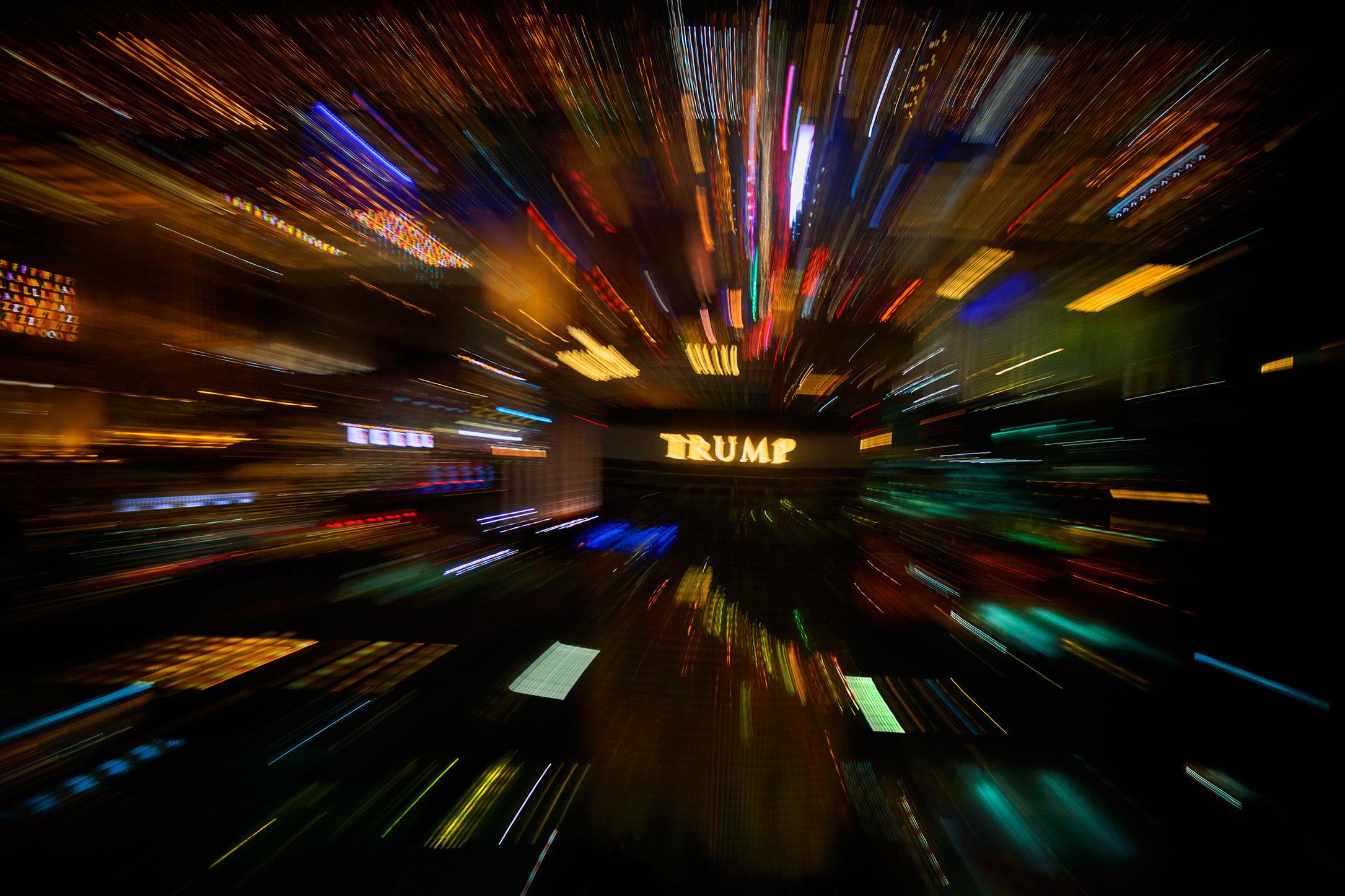 City / Las Vegas / Trump