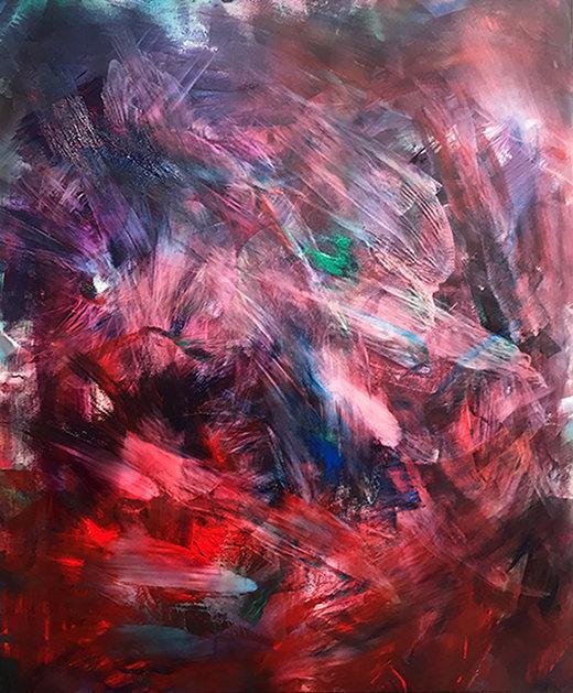 Demons Run,120 cm x 100 cm, Öl on canvas.jpg