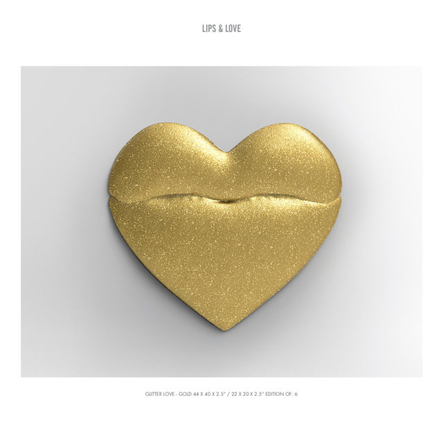 "GLITTER LOVE - GOLD 44 X 40 X 2.5"" : 22 X 20 X 2.5"" EDITION OF- 6.jpg"