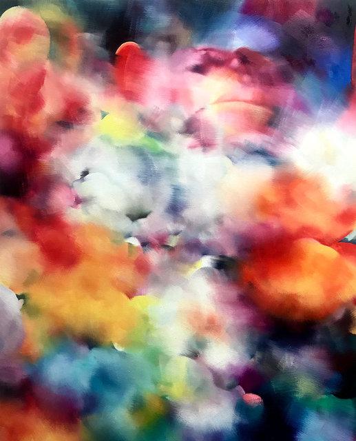 Pazific Mandarin,100 cm x 80 cm, oil on canvas,2020.jpg