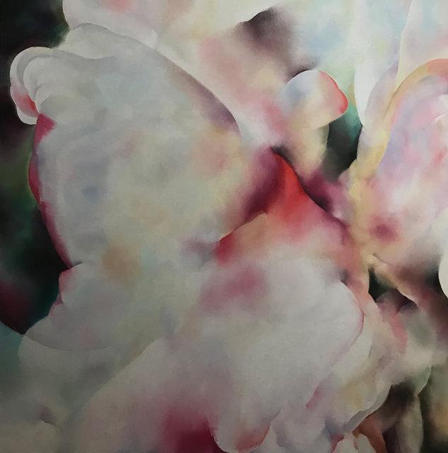 Gral des Lotus,150 cm x 150 cm,Öl auf Leinwand.jpg