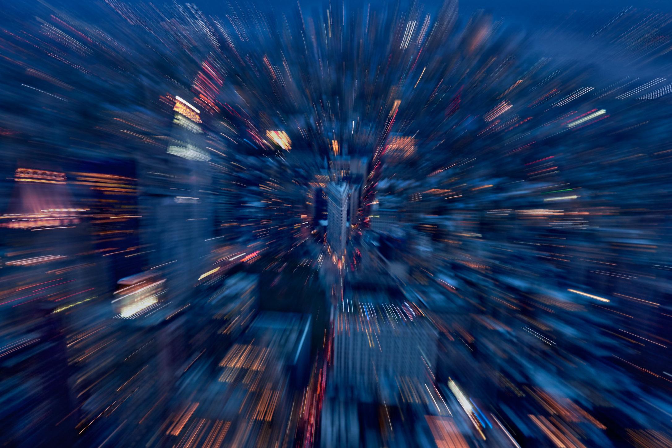 City / NY Nightscapes / Broadway