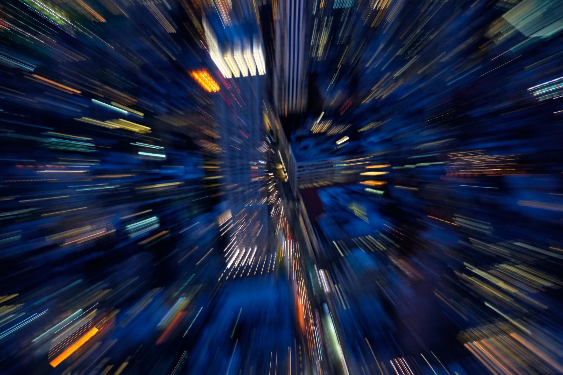 City / NY Nightscapes / 5th Avenue