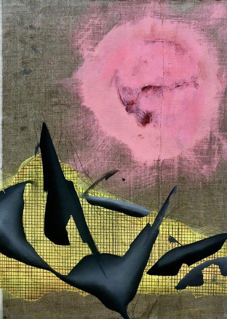 Untitled, Öl auf Leinwand, 2018