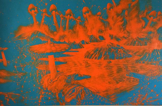 Invasion, 2017, 190 x 290 cm
