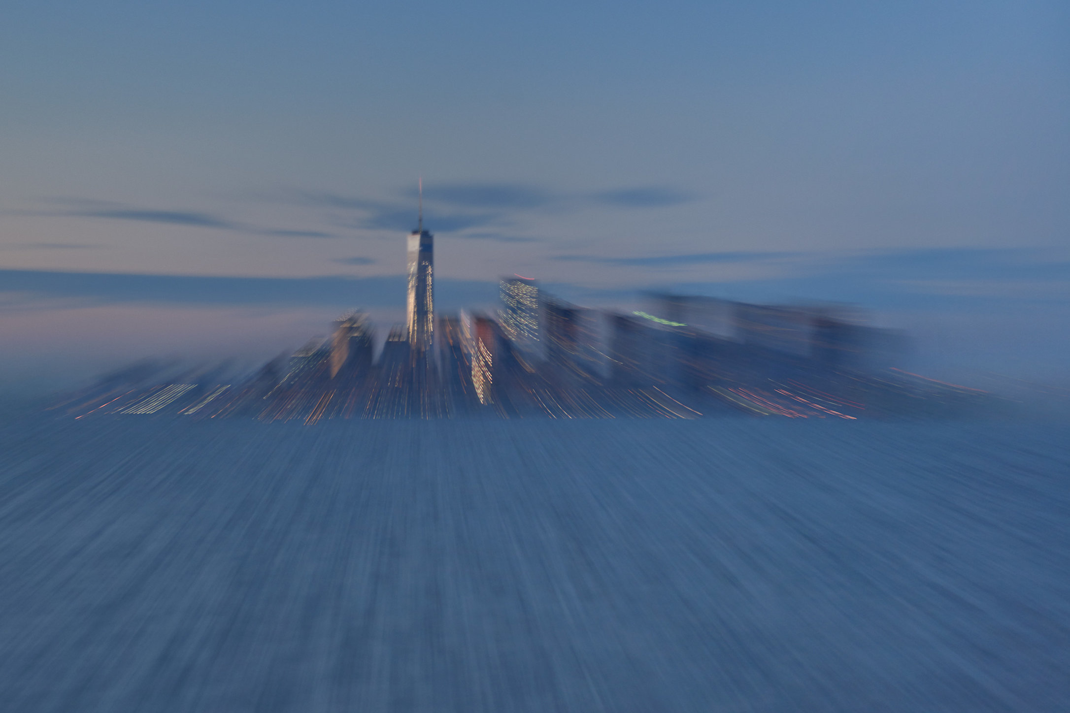 Metamorphis II / NY Skyline / Twilight