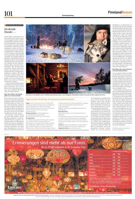 SonntagsZeitung, 27.11.2011