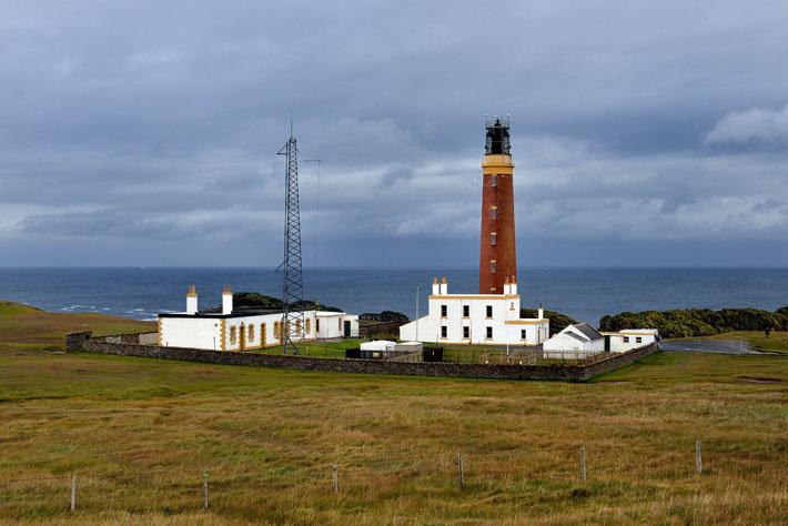 Hébrides extérieures, île de Lewis, le phare de Butt of Lewis