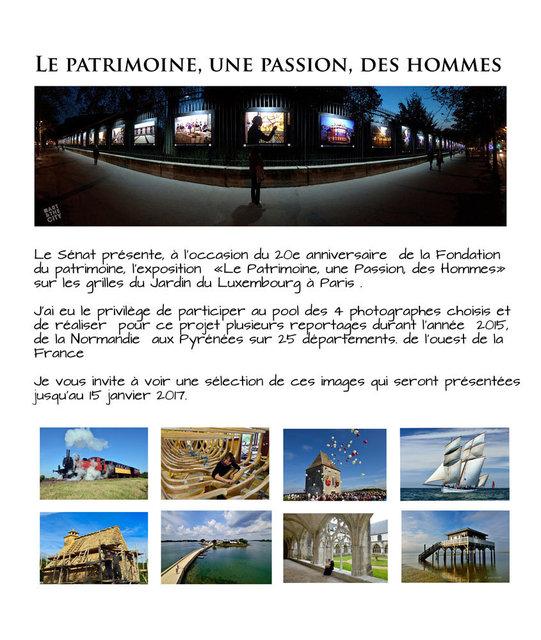 Exposition sur les grilles du jardin du Luxembourg à Paris