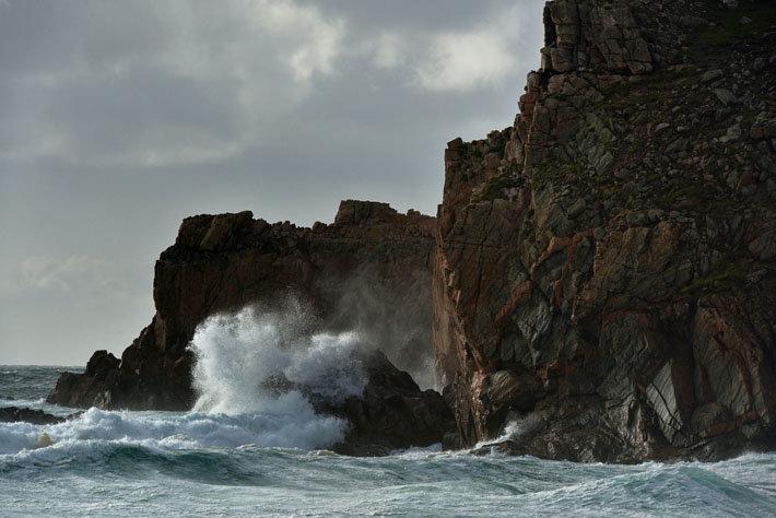 Hébrides extérieures, île de Lewis, plage de Mangersta