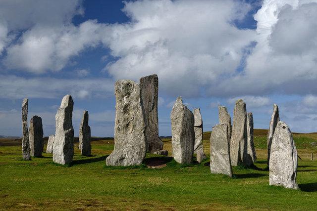 Hébrides extérieures, île de Lewis, site de Callanish