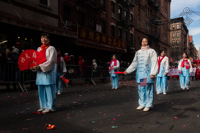 Chinatown, New York. Lunar year 2019
