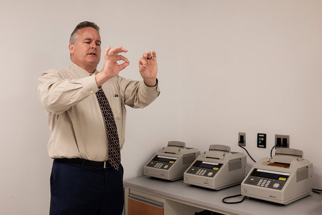 Mark Desire, the assistant director of forensic biology at the Office of Chief Medical Examiner in New York.