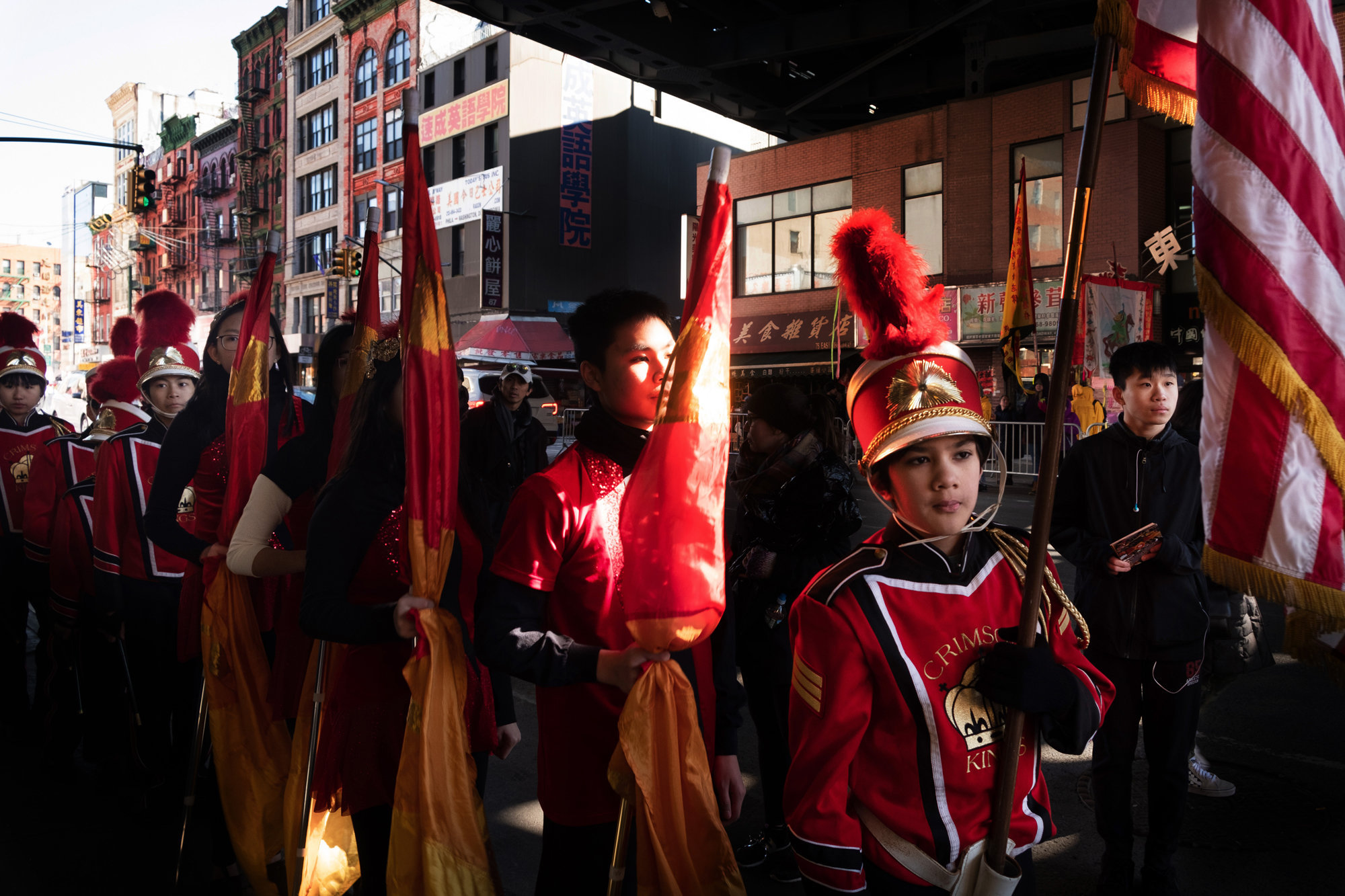 Chinatown, New York. Lunar year 2019