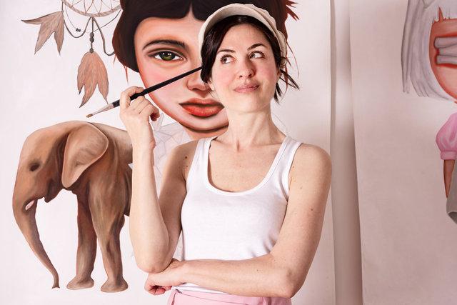 Beatrice Alegiani, artist