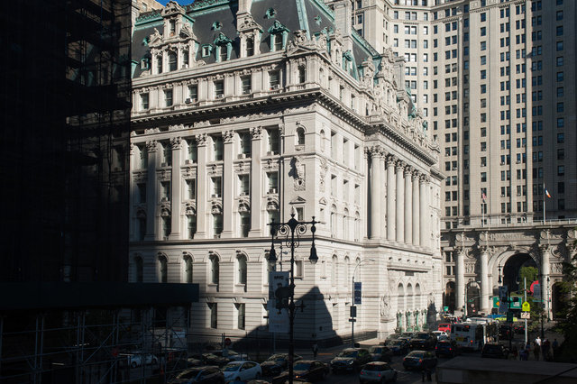 Surrogate's Courthouse. New York City