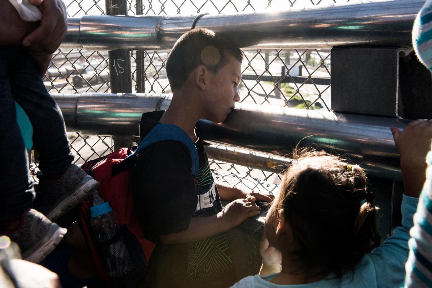 I bambini delle due famiglie richiedenti asilo_accompagnate da Annunciation House__DSC6187.jpg