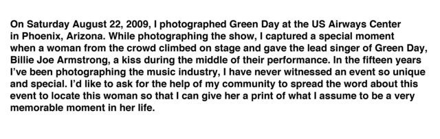 Green Day Kiss write up.jpg